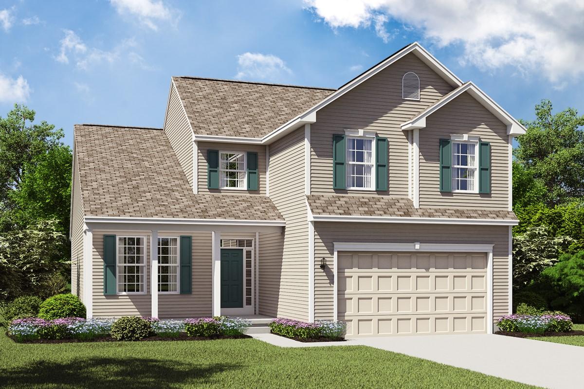 Barrington II BS new homes cleveland ohio