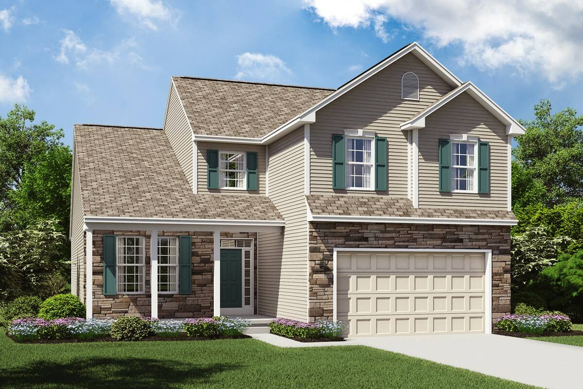 Barrington II BT new beautiful cleveland homes