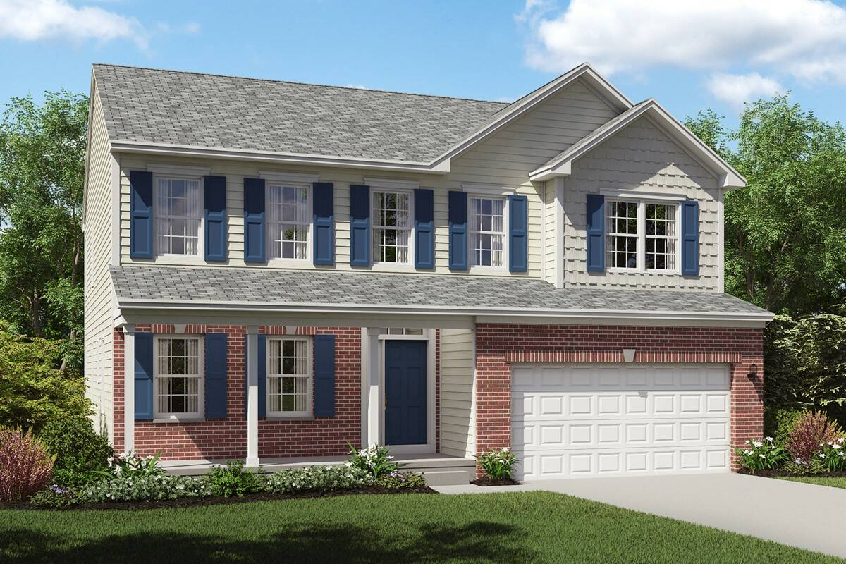 brantwood new home brick exterior cleveland ohio