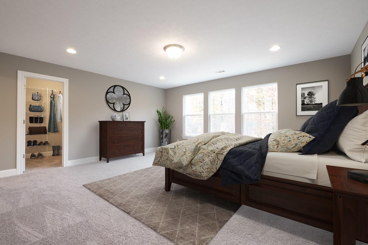 Shelton master bedroom