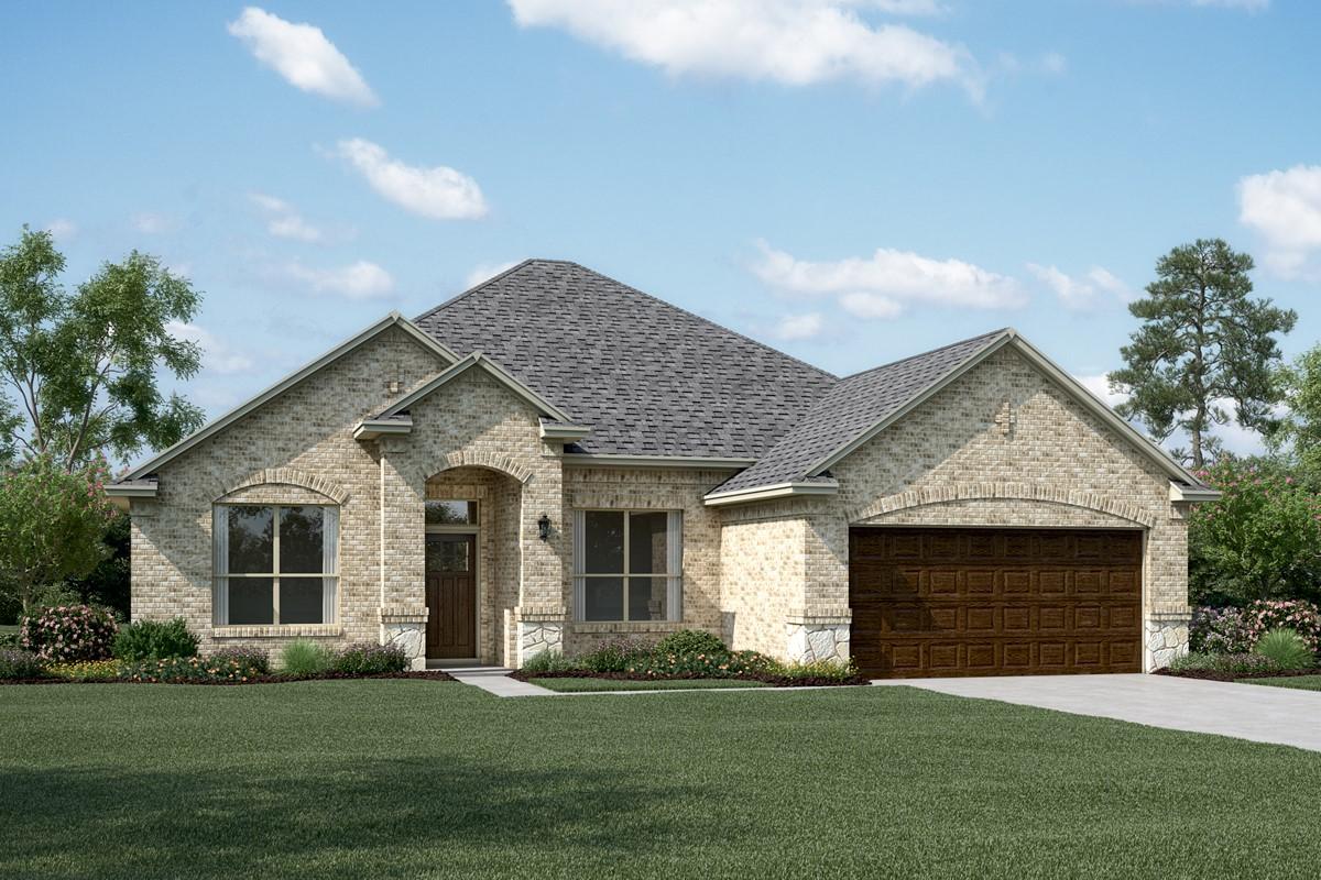 Avery II B Stone new homes dallas tx