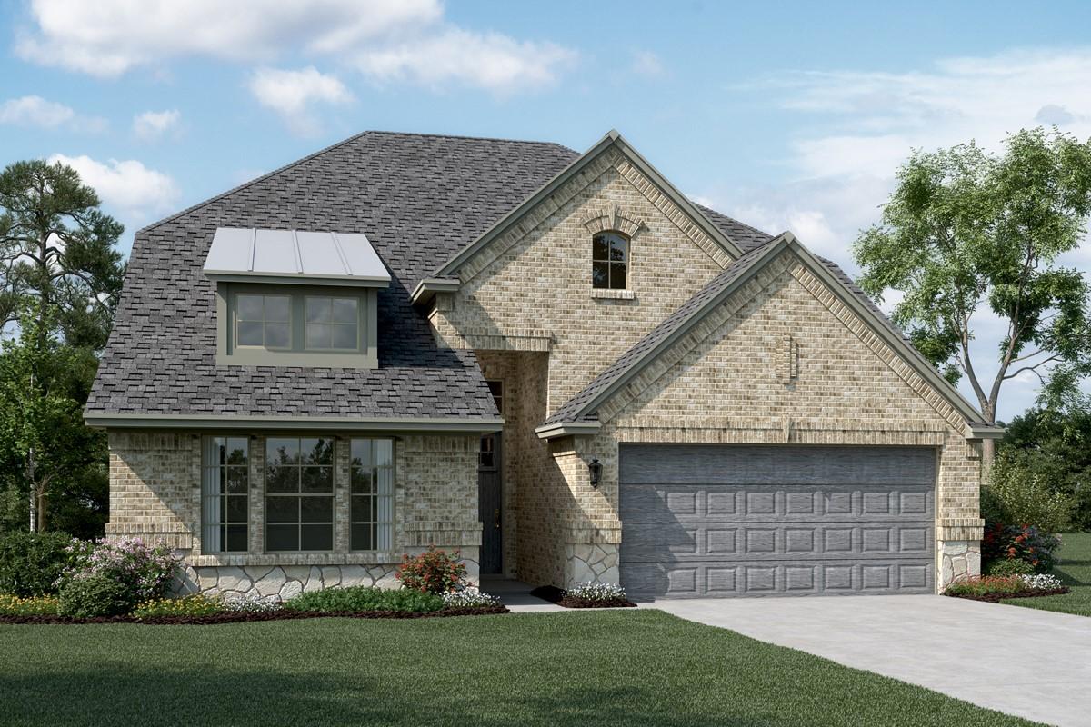 Bayview C Stone new homes dallas tx