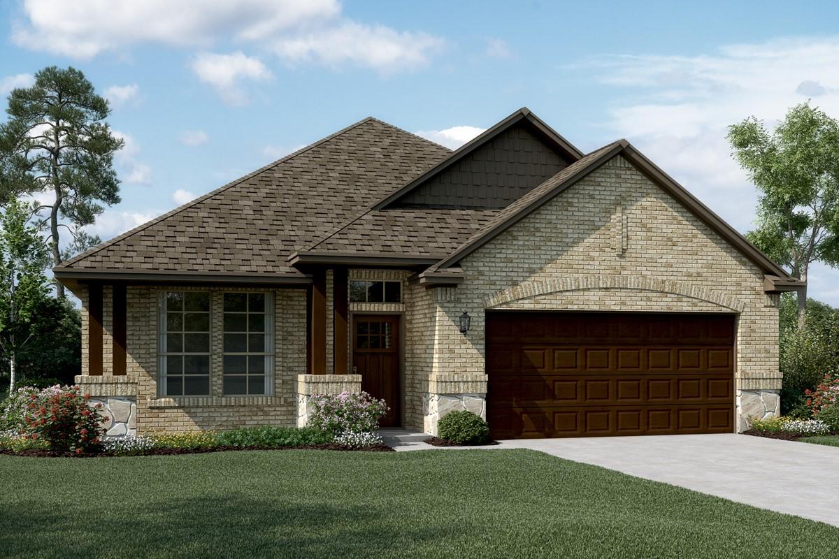 Birkdale II C Stone new homes dallas texas