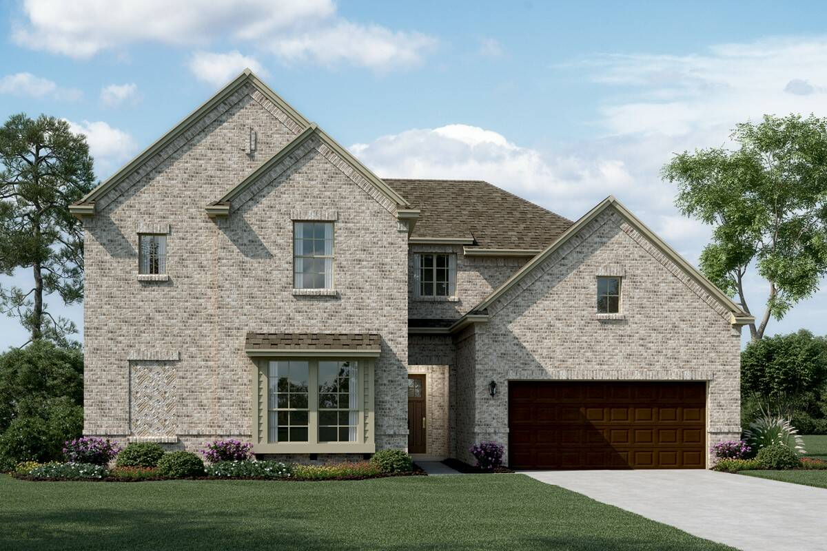 Bordeaux II C new homes dallas tx