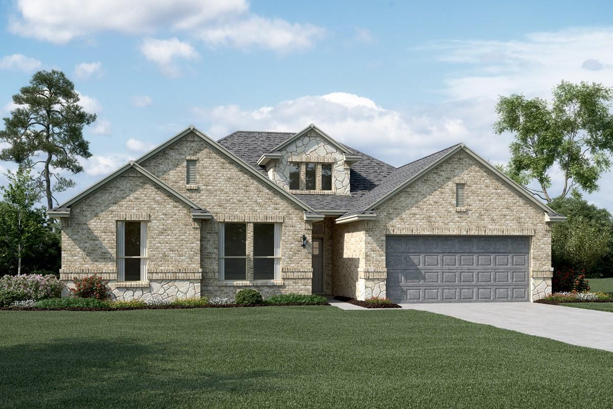 Brookstone II C Stone new homes dallas tx