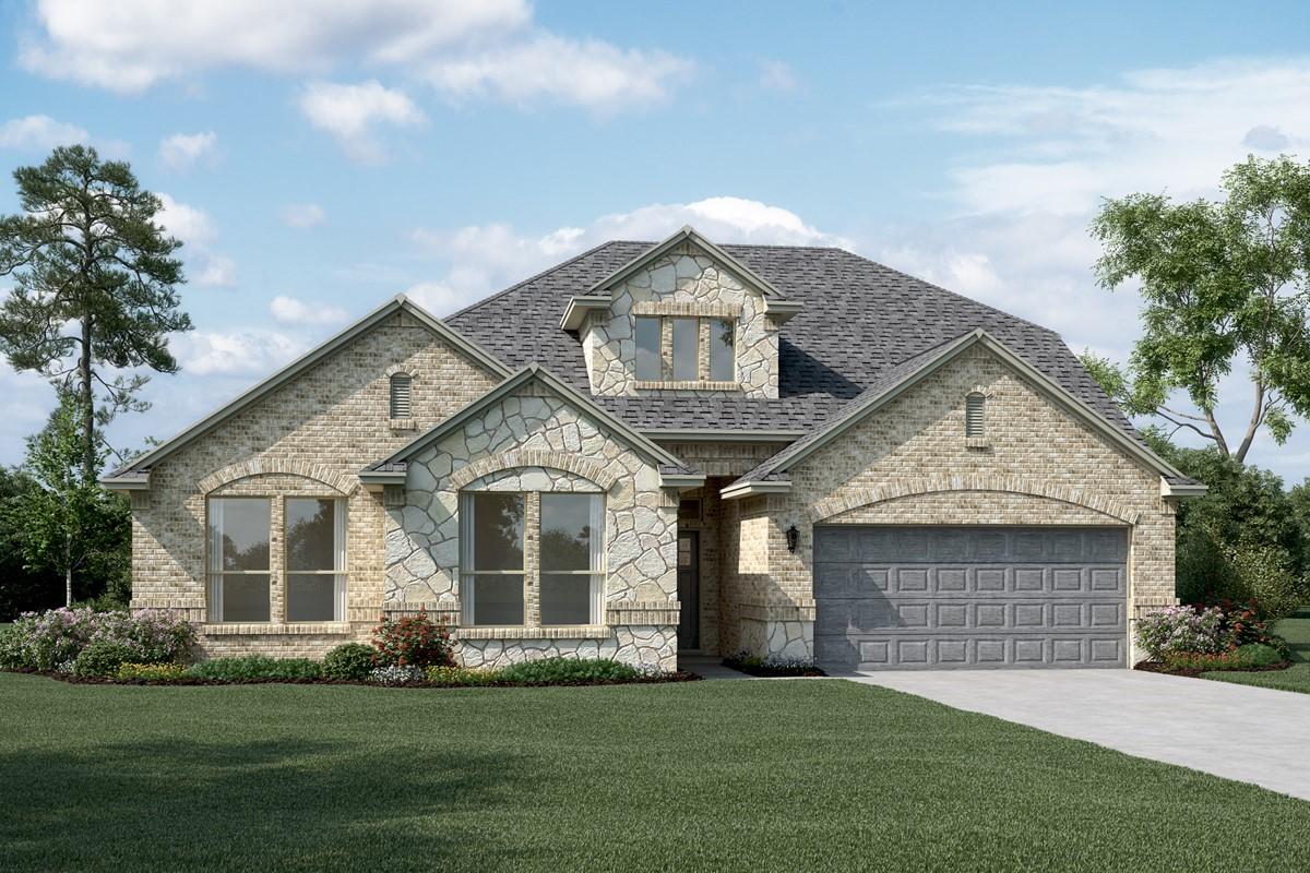 Brookstone IV C Stone new homes dallas tx