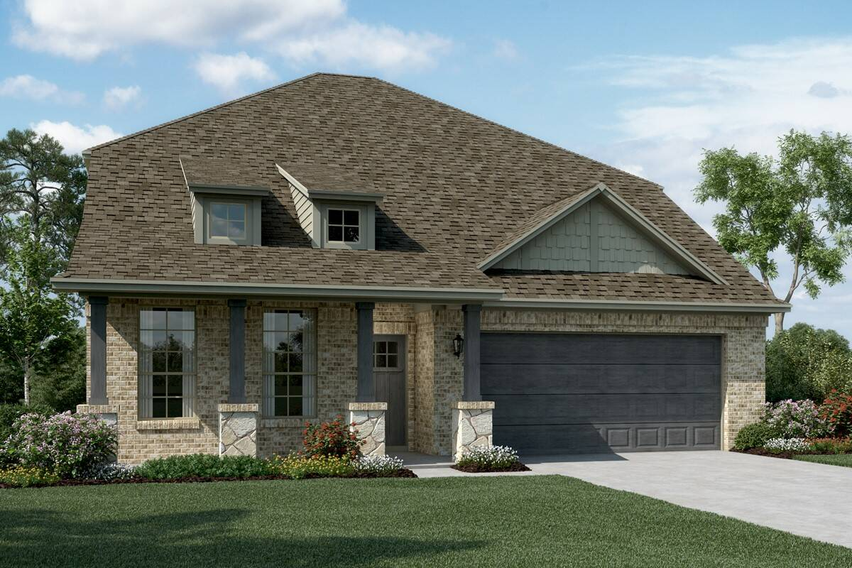 Calloway II C Stone new homes dallas texas