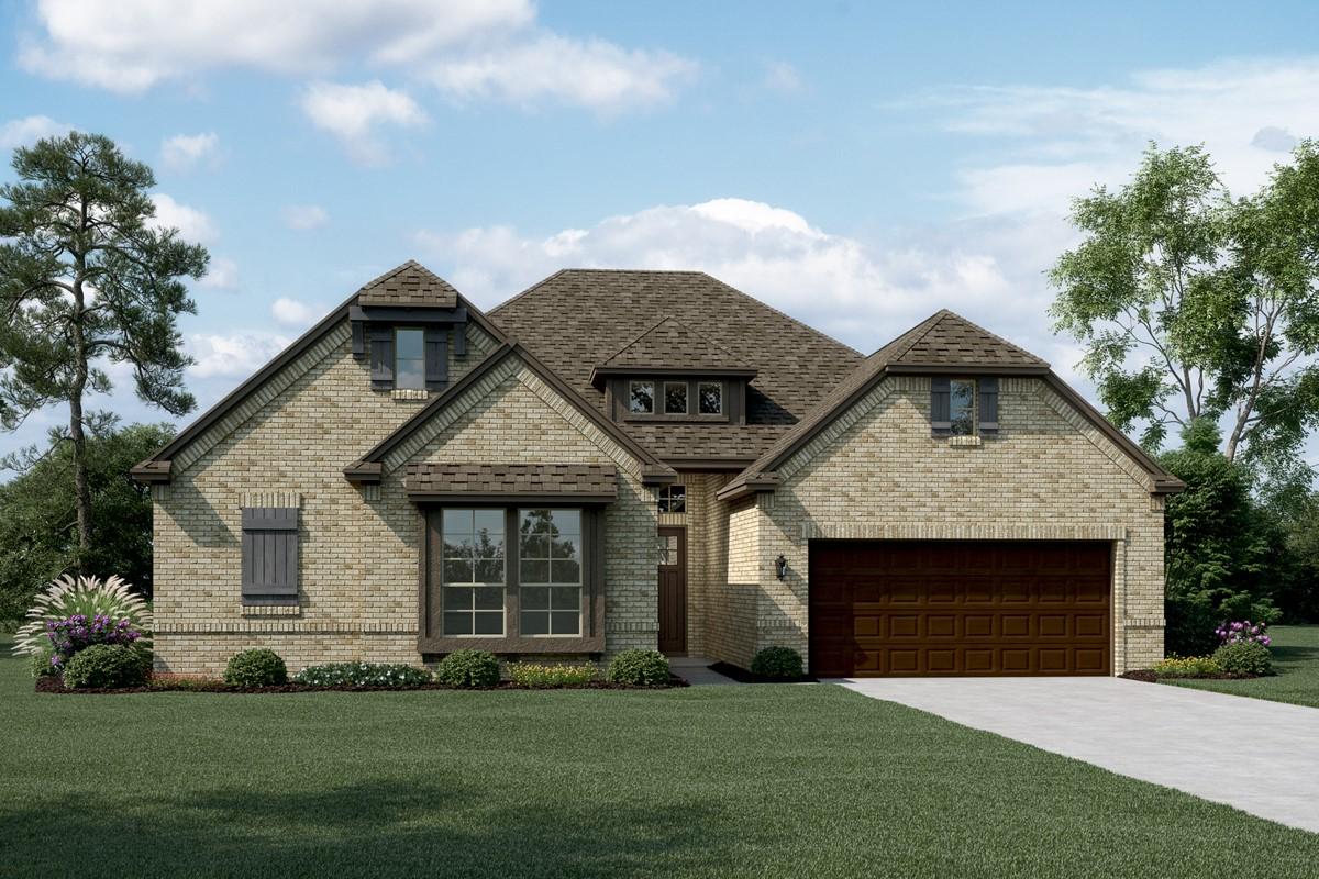 Chandler II C new homes dallas tx