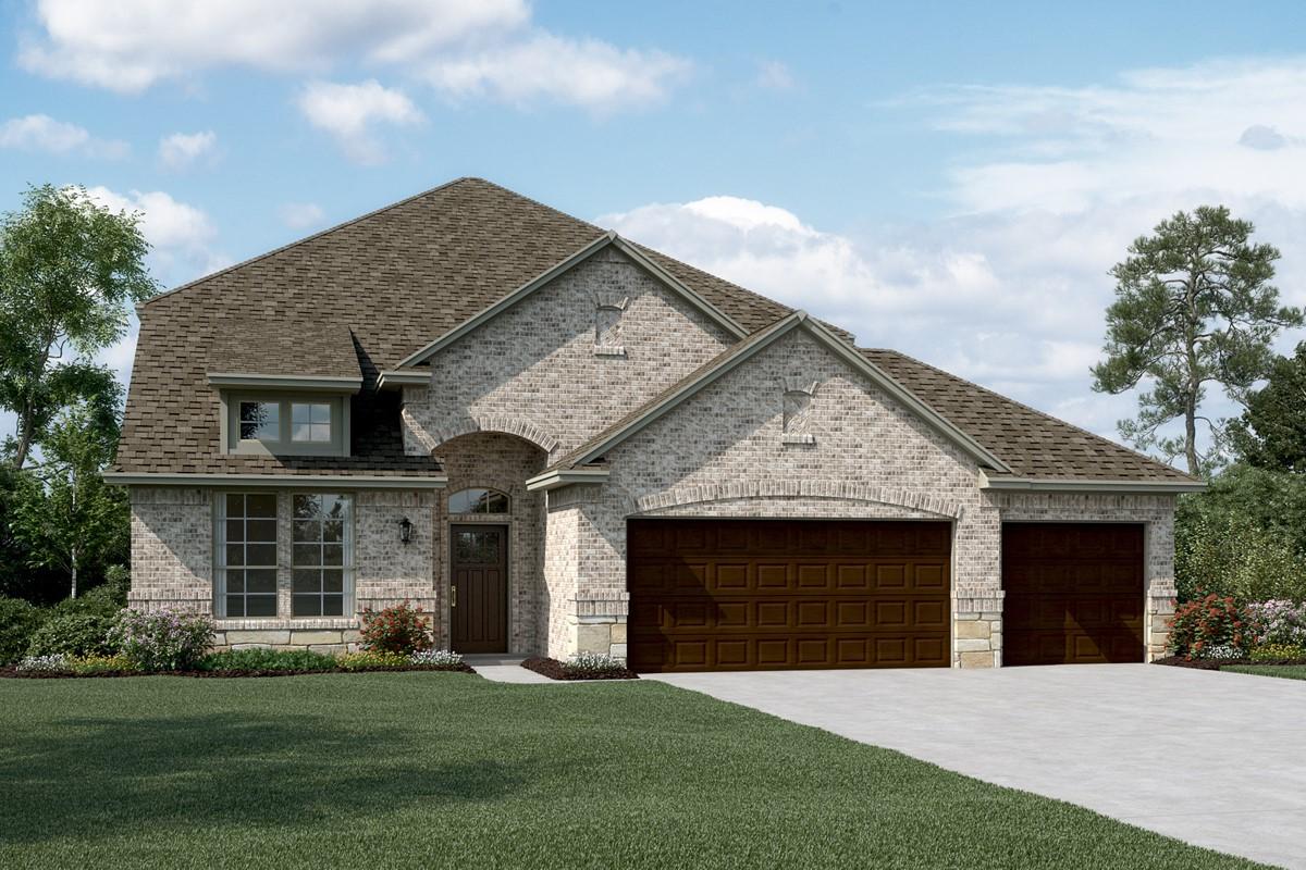 Coronado IV C Stone 3 Car new homes dallas tx