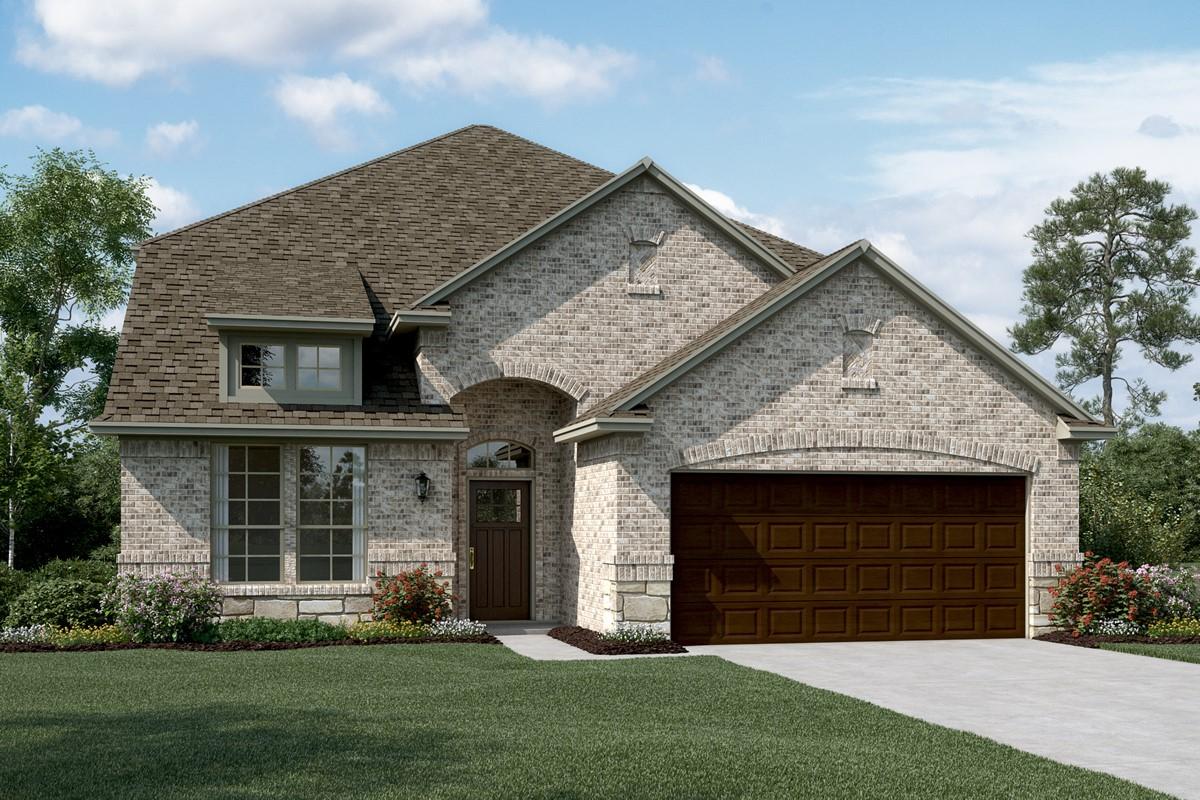 Coronado IV C Stone new homes dallas texas