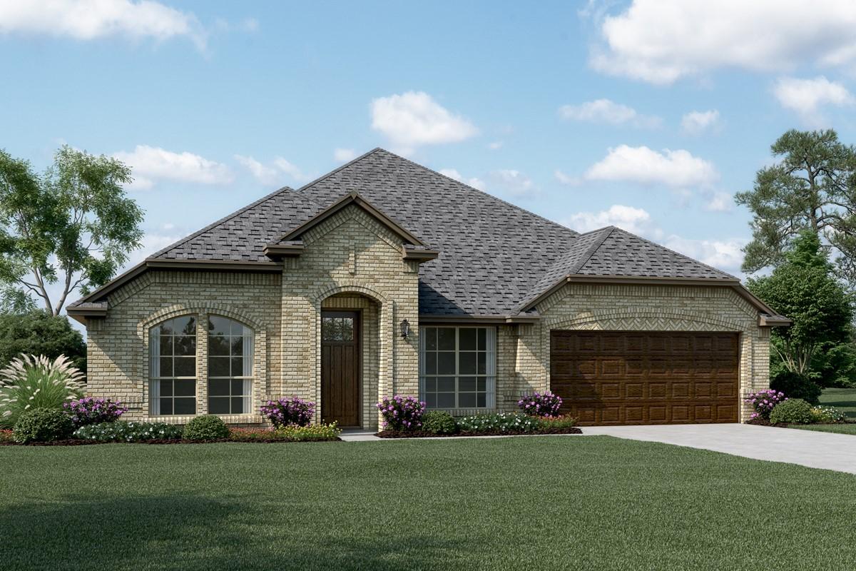 Danbury IV A new homes dallas tx