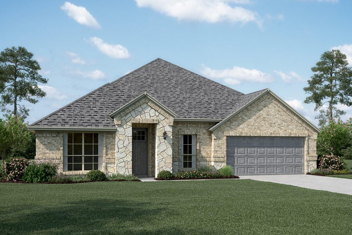 Danbury IV B Stone new homes dallas tx