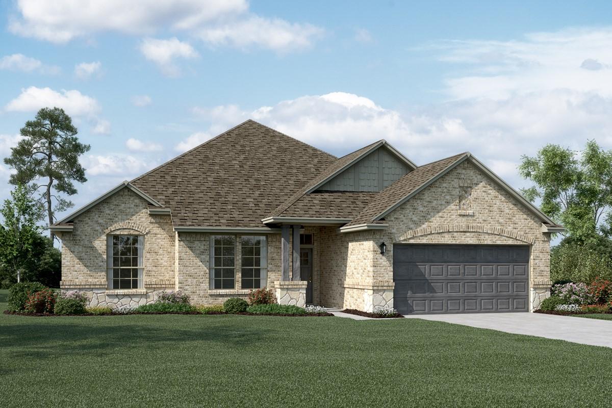 Kendall II C Stone new homes dallas tx
