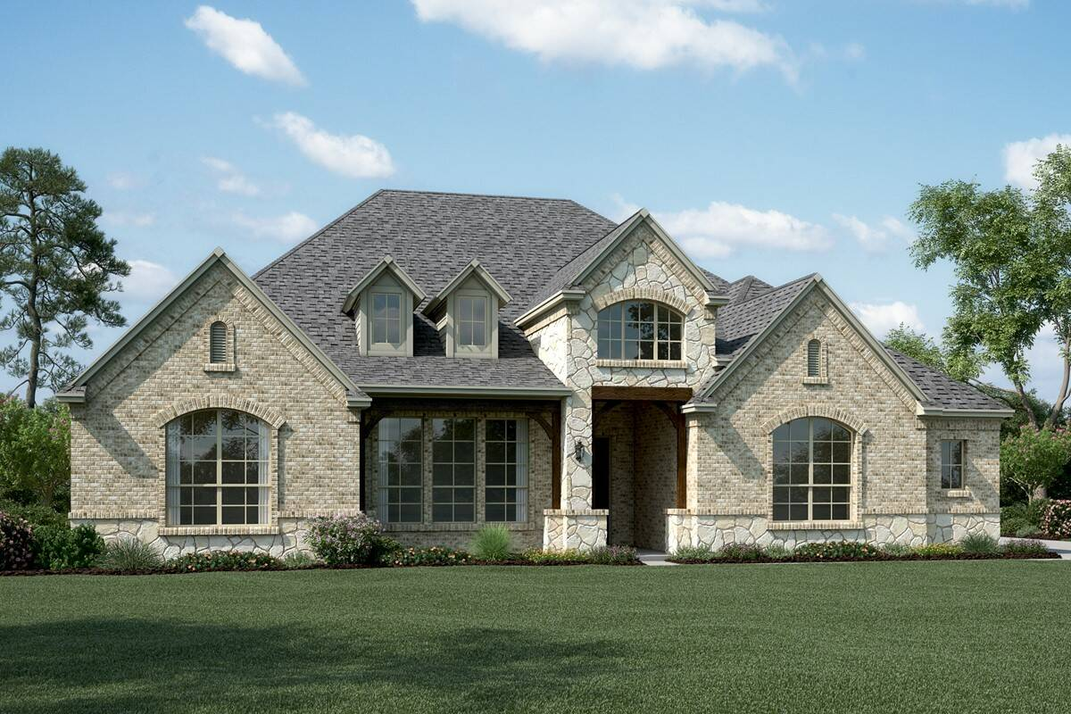 Ravenwood K Stone new homes dallas tx