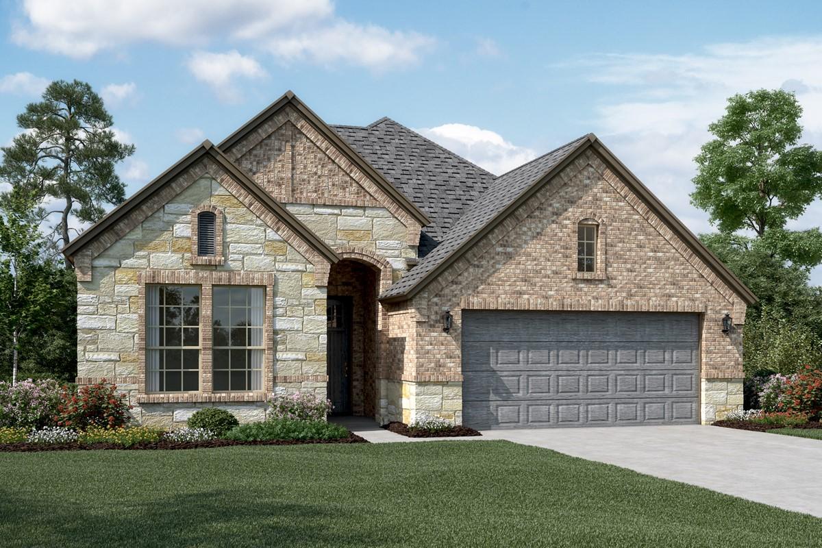 Riverdale II C Stone new homes dallas tx
