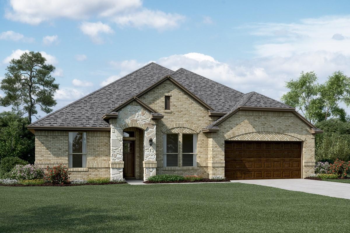 Sanderson II C Stone new homes dallas tx