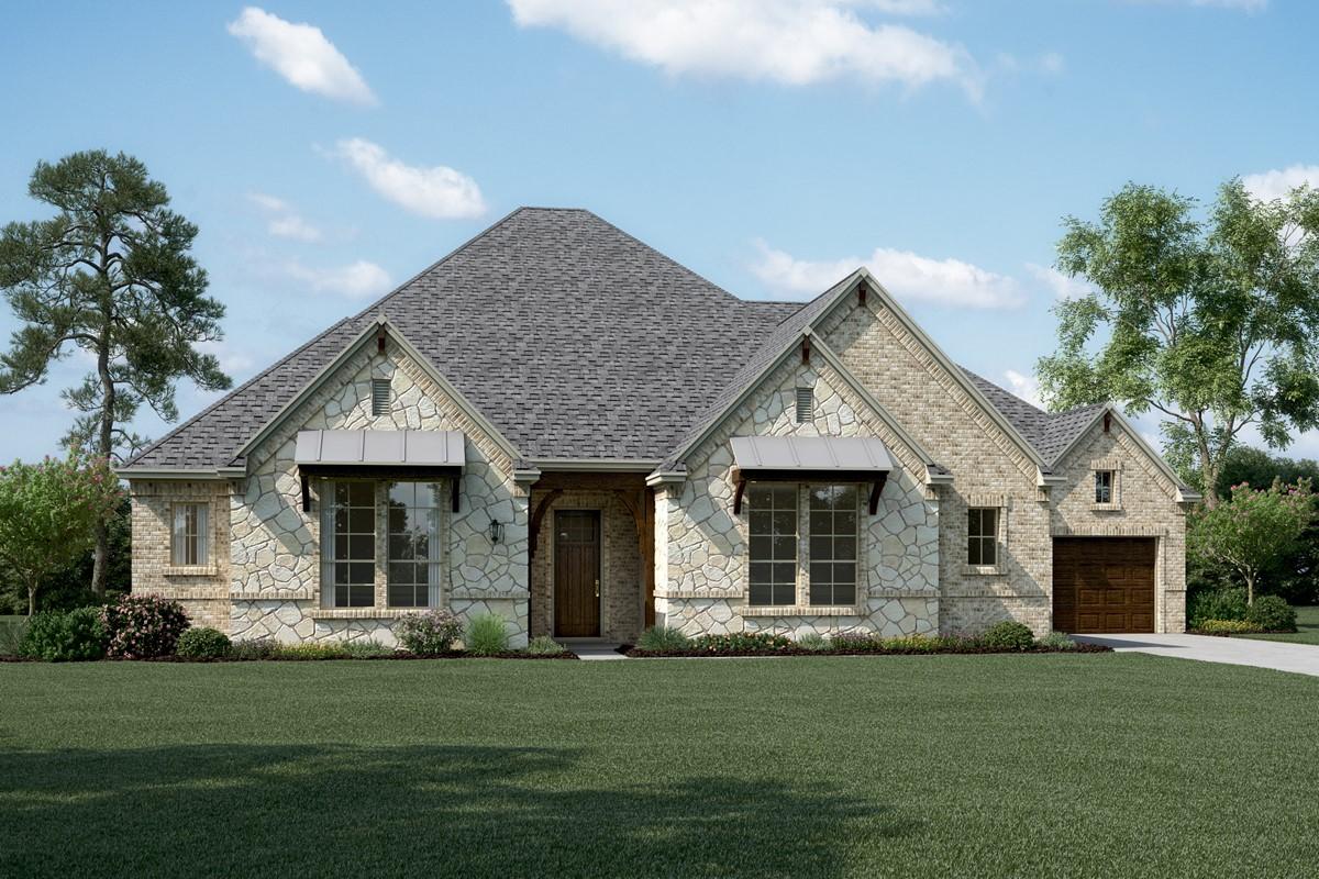 Sinclair K Stone new homes dallas tx