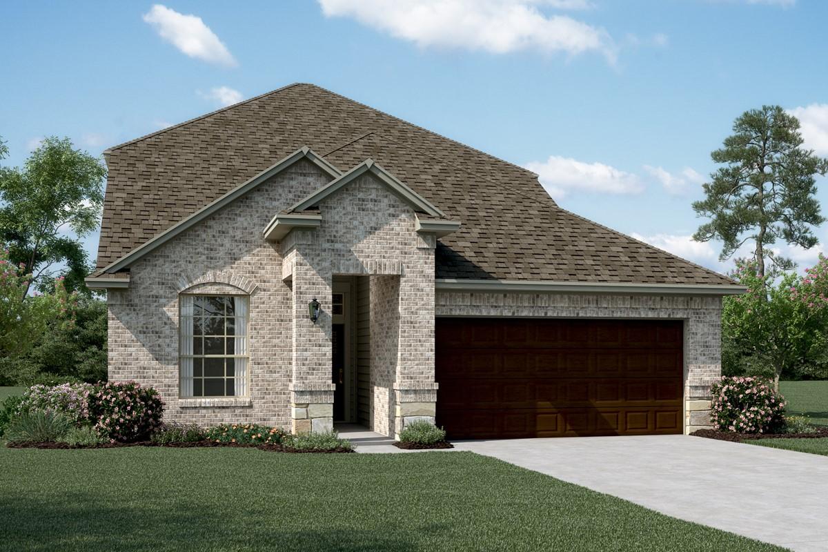 Waverly B Stone new homes dallas texas