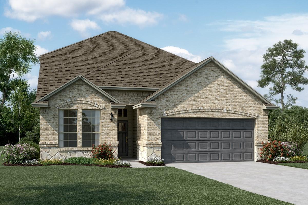 Waverly C Stone new homes dallas texas