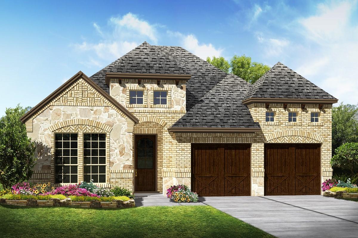 Westridge C Stone new homes dallas texas