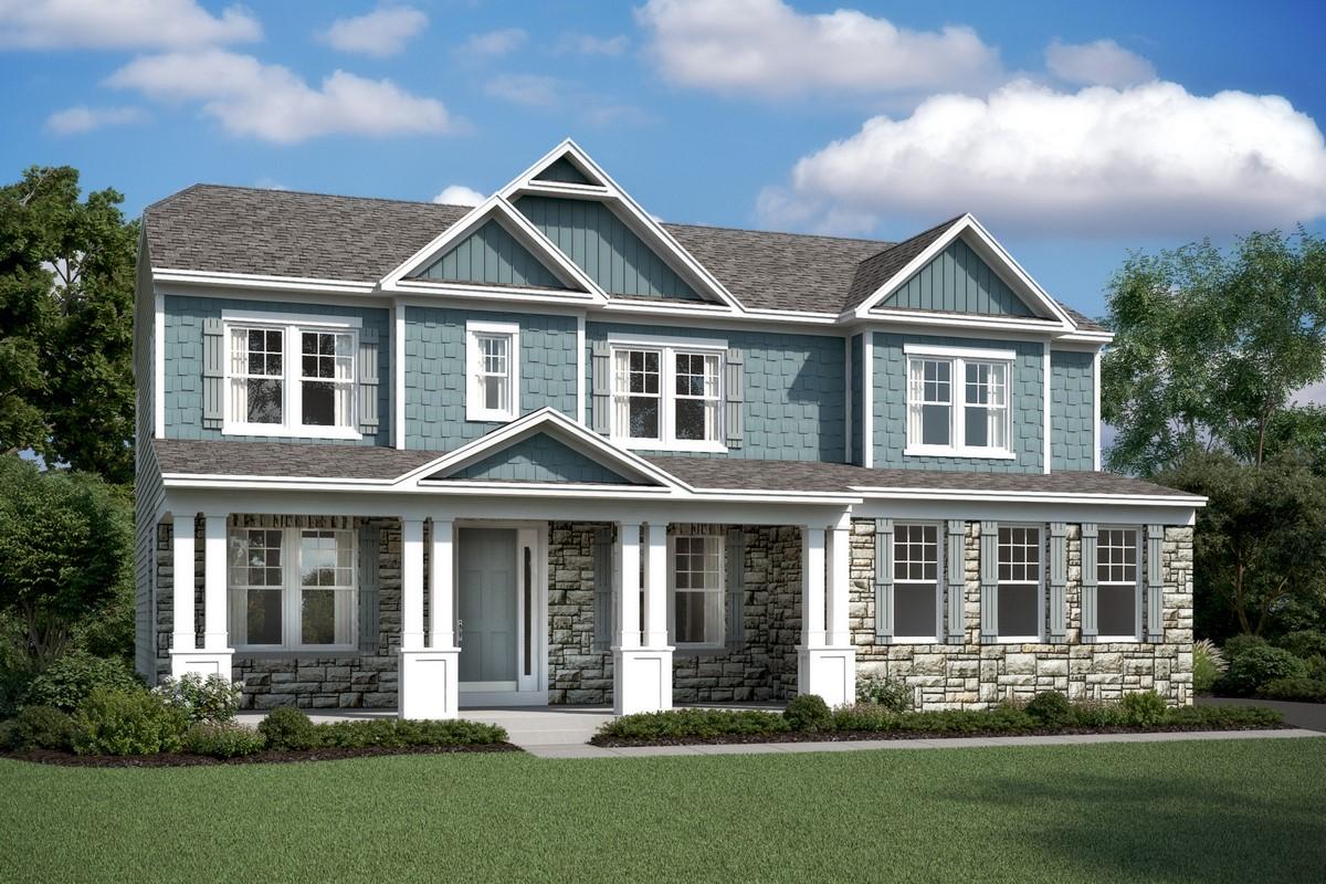 delaware II ct new homes at alexander lakes