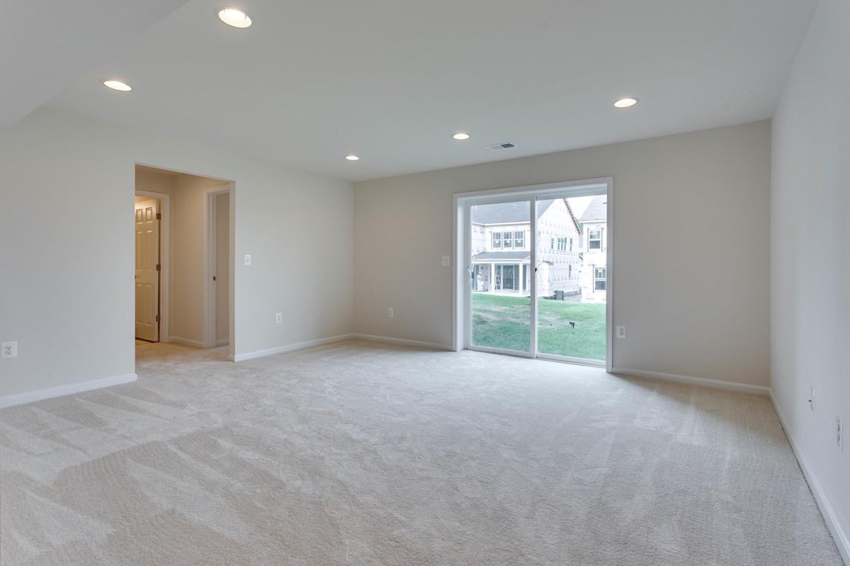 rec room tucker 437 lot 977 new homes at embrey mill
