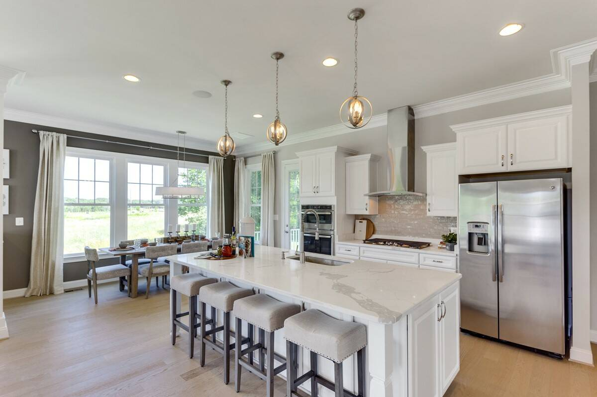 kitchen birkdale new homes at hearth collection