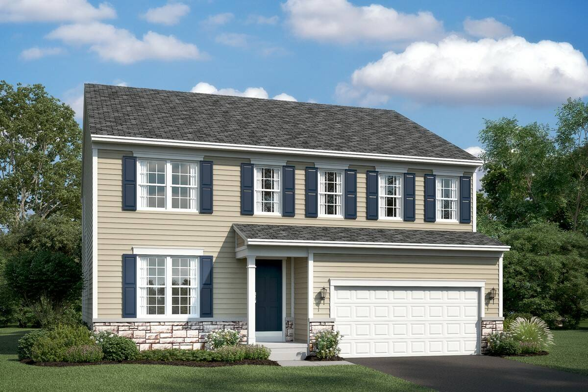 lancaster at new homes at shenandoah springs in west virginia